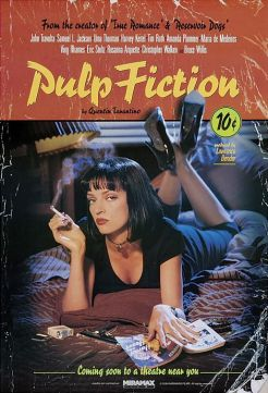 ملصق فيلم pulp fiction