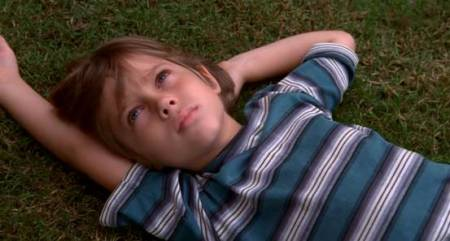boyhood, on grass
